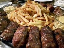 Salsichas romenas Fotos de Stock