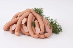 Salsichas (salsicha) Imagens de Stock Royalty Free