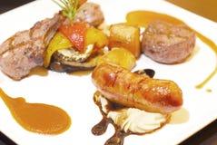 Salsichas suculentas foto de stock royalty free