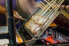 Salsichas tailandesas Foto de Stock Royalty Free