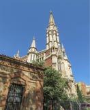 Salsk圣法兰西斯教会  巴塞罗那 免版税库存图片