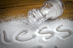 Less salt � medical concept Stock Image