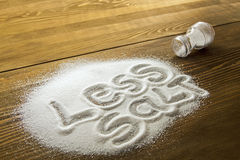 Less salt � medical concept Stock Photos