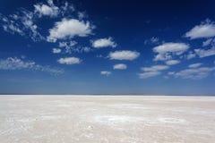 salt ökenlake Arkivfoton
