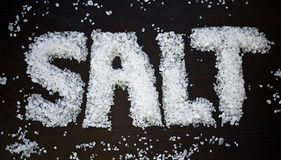 salt Arkivbild