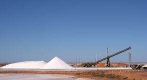 Salt. Production and industry (western australia stock images