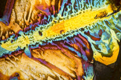 Salt acid microcrystals Royalty Free Stock Images