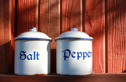 Salt And Pepper Royalty Free Stock Photo