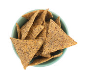 Salt And Pepper Chips In A Bowl Royalty Free Stock Photography