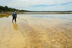 Salt arbeten för hav Royaltyfri Bild