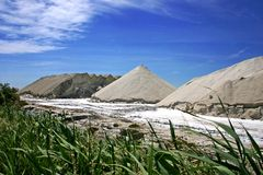 Salt area Royalty Free Stock Images
