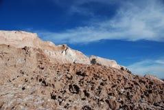 Salt in the Atacama desert Stock Image