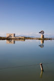 Salt basin, Trapani Royalty Free Stock Photos