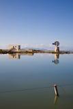 Salt basin, Trapani Royalty Free Stock Photos