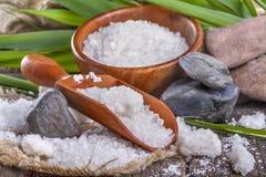 Salt bath Stock Image