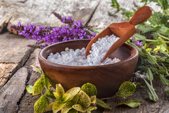Salt bath Stock Images