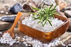 Salt bath Royalty Free Stock Photography
