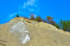 Salt berg i Praid, Harghita, Rumänien Royaltyfria Foton