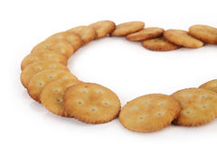 Salt Biscuits Royalty Free Stock Photos