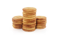 Salt Biscuits Royalty Free Stock Photography