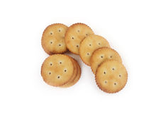 Salt Biscuits Royalty Free Stock Photo