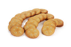 Salt Biscuits Stock Photography