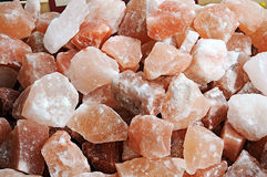 Salt blocks Stock Images