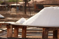 Salt board Stock Image