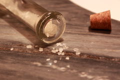 Salt bottle Stock Photography