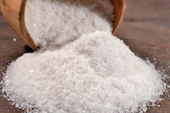 Salt in a bowl Stock Photos