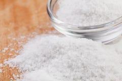 Salt bowl Royalty Free Stock Photo