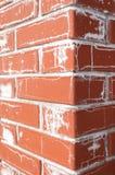 Salt on the brick Stock Photos