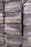 Salt bricks Stock Photography