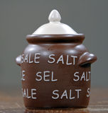 Salt cellar Stock Image
