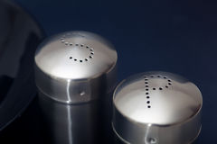 Salt cellar et pepper-pot Royalty Free Stock Image