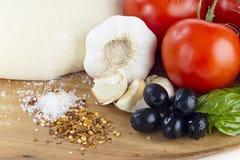 Salt and chili seeds Stock Photography