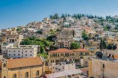 Salt cityscape jordan Royalty Free Stock Image