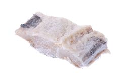 Salt cod fish Royalty Free Stock Photo
