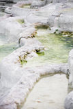 Salt-containing natural mineral water fountain Stock Photo