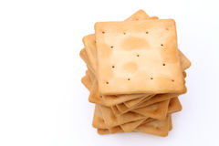 Salt crackers Royalty Free Stock Photo