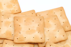 Salt crackers Royalty Free Stock Photography