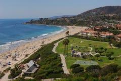 Salt Creek Beach. In southern California's Laguna Beach stock photography
