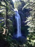 Salt Creek Falls in Oregon Stock Photo