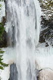 Salt Creek Falls in Winter Stock Images