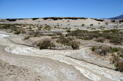 Salt Creek Trail in Death Valley National Park, CA, USA Royalty Free Stock Images