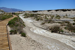 Salt Creek Trail in Death Valley National Park, CA, USA Stock Image