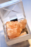 Salt crystal Stock Photography