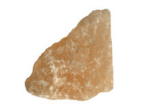 Salt crystal stone Stock Photography