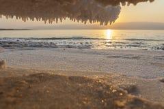 Salt Crystals stock image