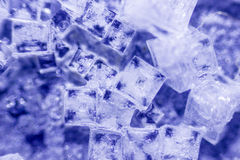 Salt crystals Stock Photography